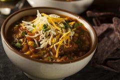 Soutwestern Santa Fe Soup Royalty Free Stock Image
