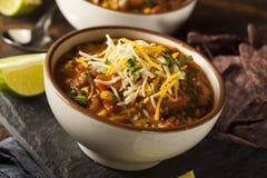 Soutwestern Santa Fe Soup Royalty Free Stock Photo