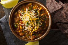 Soutwestern Santa Fe Soup Royalty Free Stock Photography