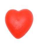 Souvenir. Souvenir in the form of heart on a white background Royalty Free Stock Photo