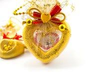 Souvenir. A souvenir pretends heart picture Royalty Free Stock Image
