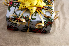 Souvenir. Gift on sand Stock Photo