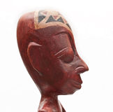 Souvenir africain. Tête d'homme. Images stock