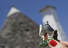 Souvenir of alberobello Stock Photos