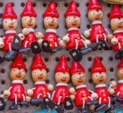 Souvenir av Pinocchio, från Rome, Italien arkivfoton