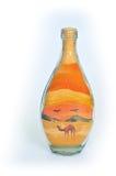 Souvenir bottle. Royalty Free Stock Image