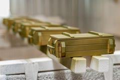 Souvenir box for weapons Stock Photos