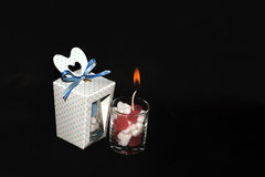 Souvenir candle lighting Royalty Free Stock Images