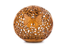 Souvenir carved coconut from Bali Indonesia Royalty Free Stock Photo