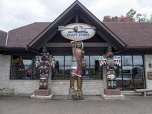 Souvenir City Shop in Niagara Falls, Canada Royalty Free Stock Images