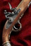 Souvenir copy of an old musket.  Stock Photos
