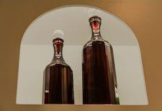 Souvenir de Florence, Italie Beaux plats, cruches et verres en cristal Images libres de droits