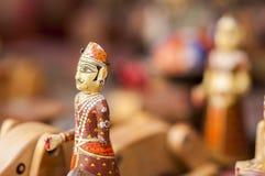 Souvenir de la figurine miniature de Mughal royale de l'Inde Photos libres de droits