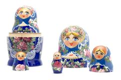 Souvenir doll Royalty Free Stock Photos