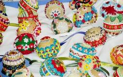 Souvenir eggs for Easter celebration Stock Images