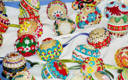 Free Souvenir Eggs For Easter Celebration Stock Images - 77052194