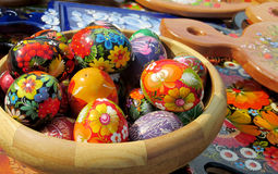 Souvenir eggs Stock Photography