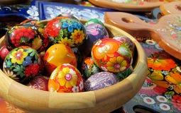 Souvenir eggs Stock Photography