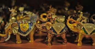 Souvenir elephants Royalty Free Stock Photography