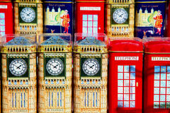 souvenir        in england london obsolete    icon Royalty Free Stock Images