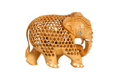 souvenir för elefantfigurineindier Royaltyfria Bilder