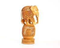 souvenir för elefantfigurineindier Royaltyfri Bild
