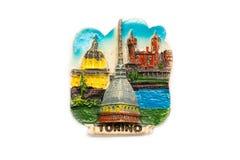 Souvenir från Turin Arkivfoto
