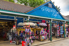 Souvenir and gift retail store in the shopping district of Windsor Stock Photography