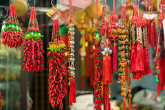 Souvenir in gift shops at China town, Singapore. Singapore, Singapore - September 11 2016 : Souvenir in gift shops at China town, Singapore Royalty Free Stock Photo