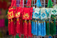 Souvenir in gift shops at China town, Singapore. Singapore, Singapore - September 11 2016 : Souvenir in gift shops at China town, Singapore Royalty Free Stock Photos