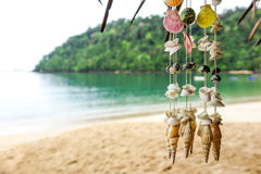 Souvenir. Hang on the beach in thailand Stock Images