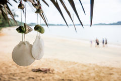Souvenir. Hang on in the beach in Thailand Stock Images