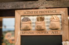 Souvenir Herbes de Provence Stock Photo