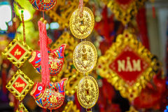 Souvenir at Hoan Kiem lake, Hanoi Royalty Free Stock Images
