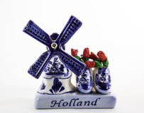 Souvenir Holland Windmill Arkivbild