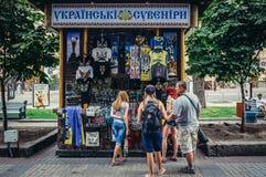 Souvenir i Kiev Royaltyfri Bild
