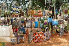 Souvenir i Mocambique arkivbild