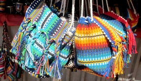 Souvenir indian traditional bags Royalty Free Stock Photo