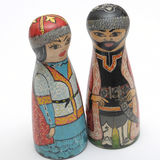 Souvenir Kazakhs in national dress Royalty Free Stock Images