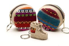 Souvenir key chain Royalty Free Stock Image