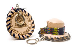 Souvenir key chains from Nicaragua Stock Image