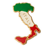 The souvenir magnet  - the outline of Italy Stock Images