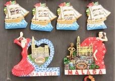 Souvenir Magnets stock image