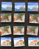 Souvenir Magnets Royalty Free Stock Images