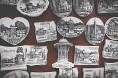 Souvenir magnets from Sarajevo Stock Image