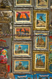 Souvenir magnets in St. Petersburg Royalty Free Stock Images