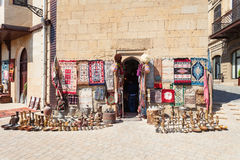 Souvenir market in Baku Royalty Free Stock Images