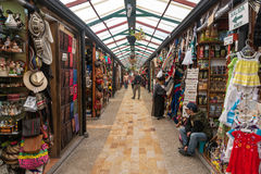 Souvenir Market in Colombia Stock Photo