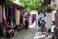 Souvenir market in Safranbolu, Turkey Royalty Free Stock Image