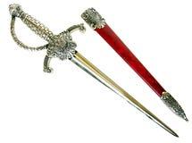 Souvenir medieval dagger Stock Photography